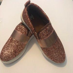 J Crew Shoes  Gold Glitter